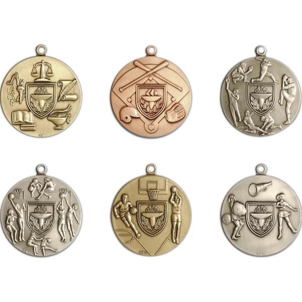 """1.75"""" Die Struck Medal"""