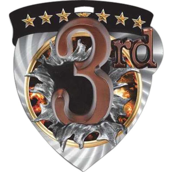 """3"""" Full Color Burst Medal"""