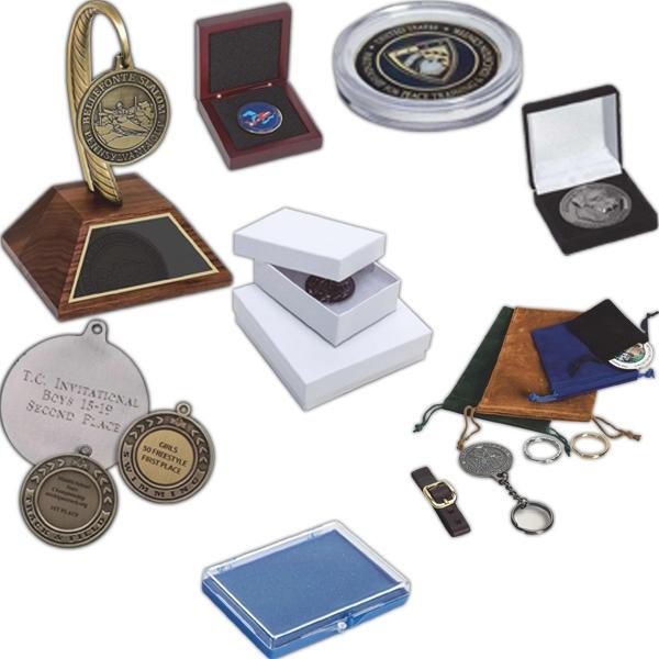 """1.5"""" Round Plastic Coin Case"""