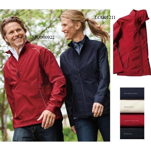 Men's Big & Tall CB Weather Tec Beacon Half Zip Jacket