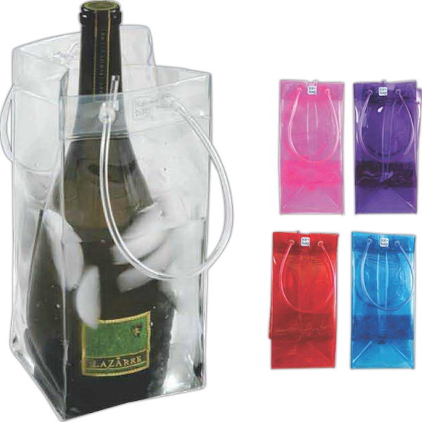 Ice Bag Collapsible Wine Cooler Bnoticed Put A Logo