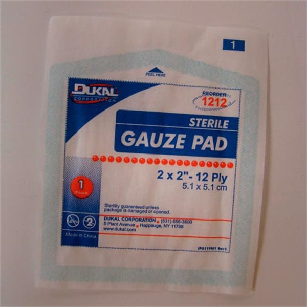 "Gauze Pad 2"" X 2"". Blank Photo"