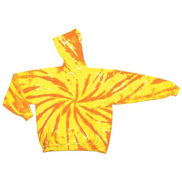 Youth Team Web Hooded Sweatshirt Tie Dye