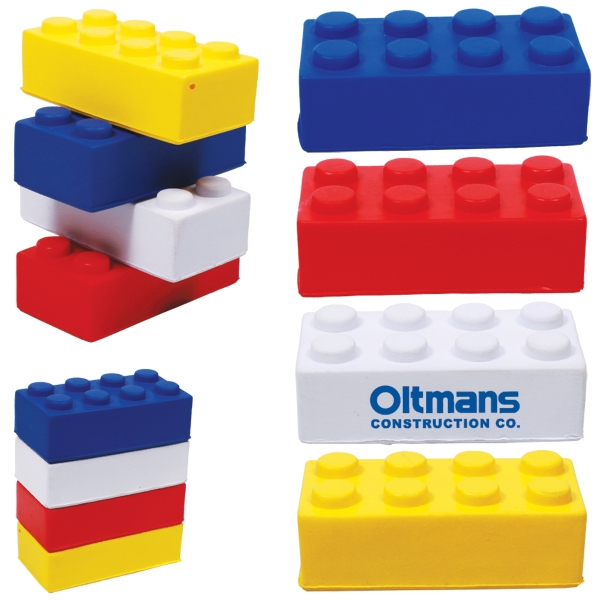 Building Block Stress Reliever Photo