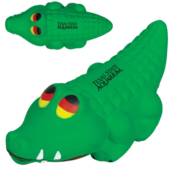 Alligator Shaped Stress Reliever Photo