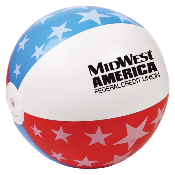 "Usa Beach Ball, 16"" Photo"