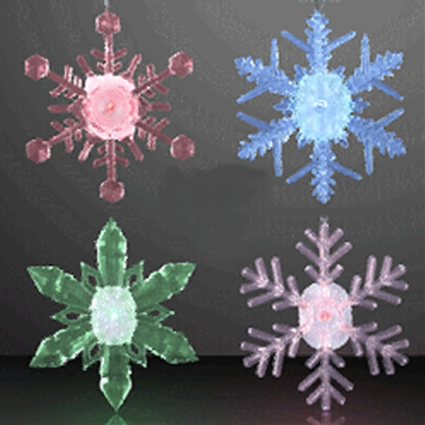LED Snowflake Decoration Ornaments
