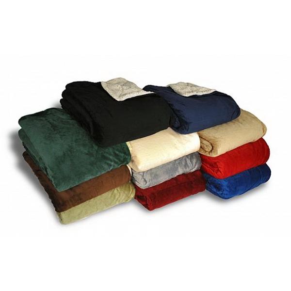 50x60 Micro Mink Sherpa Blankets
