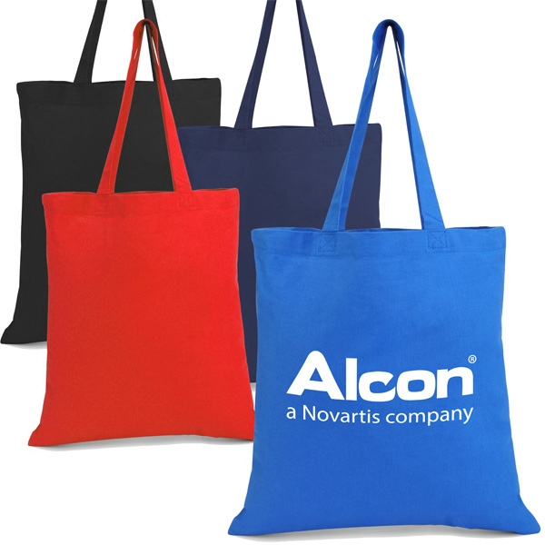 Colored Promotional Cotton Tote Made Of 6 Oz. Cotton Canvas Photo