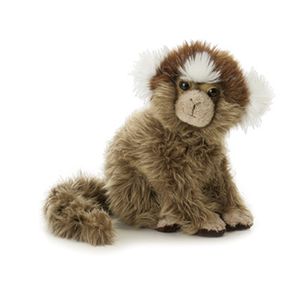 "8"" Marmoset Stuffed Monkey"