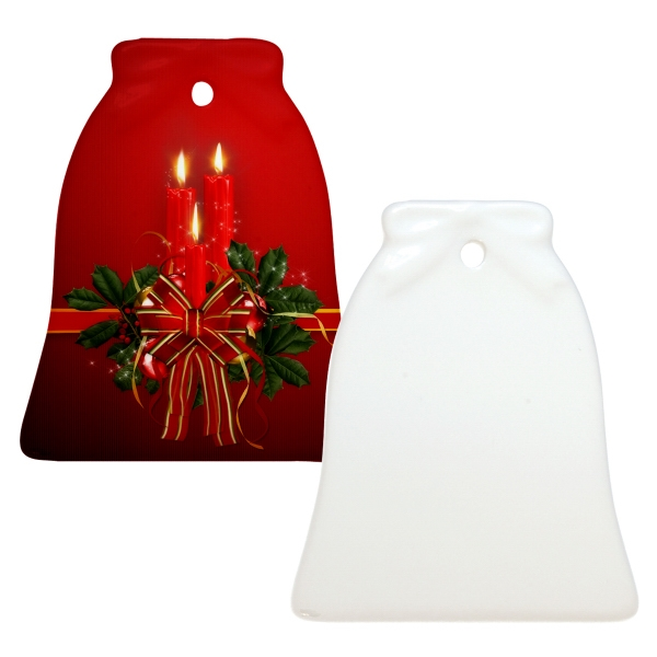 "Sublimation Ornament Is Our Most Popular Holiday Promotional Item, 3"" Bell Photo"