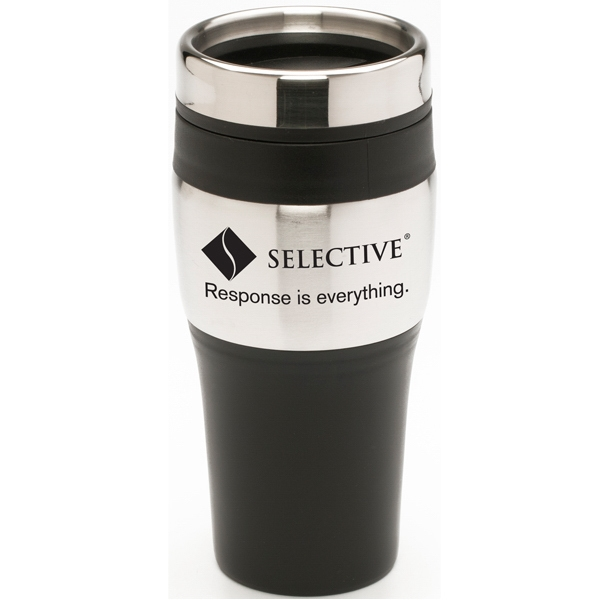 The Roadster - 16 Oz. Commuter Tumbler With Stainless Steel Outer Shell And Plastic Liner Photo