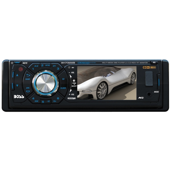 "3.2"" Widescreen TFT Monitor AM/FM Receiver w/Bluetooth"