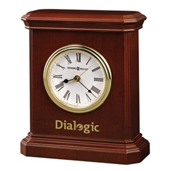 Windsor Carriage - Carriage-style Table Clock With Beveled Sides And Felt Bottom Photo