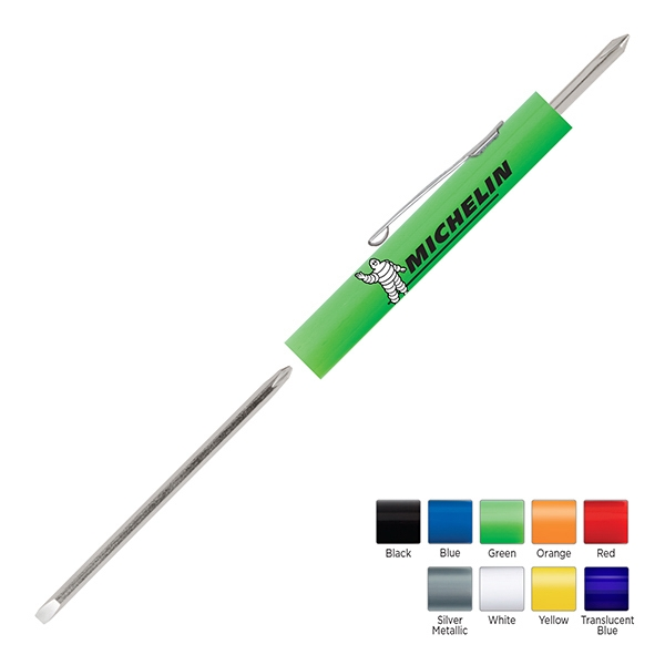 Pocket Partner (tm) - Pocket Screwdriver With Reversible Blade And #0 Phillips Tool Top Photo