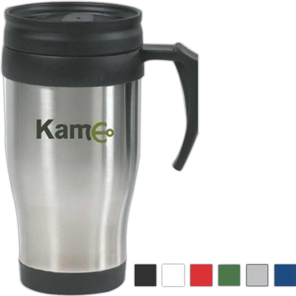 The Everyday - Traditional Stainless Steel Mug With Plastic Liner, 14 Oz Photo