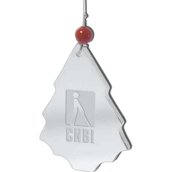 The Glistening Festival Tree - Enduring Stainless Steel Tree Ornament Photo