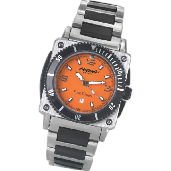 Euro Design;the Salzburg - Sporty Design Ladies Watch With Date Display Photo