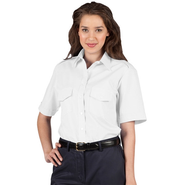 X  X S- X L - Women's Short Sleeve Navigator Shirt Photo