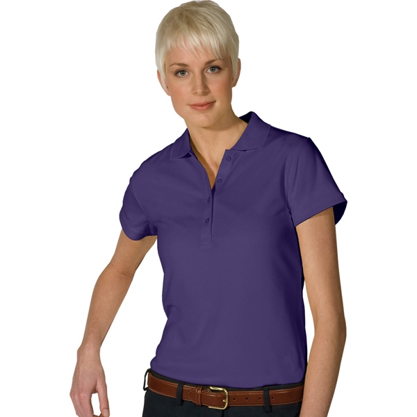 X  X S- X L - Women's Dry Mesh Hi-performance Polo Photo