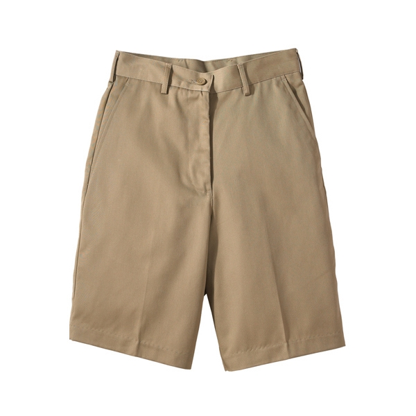 "22w-24w - Women's Utility Flat Front Shorts With 9/9.5"" Inseam Photo"