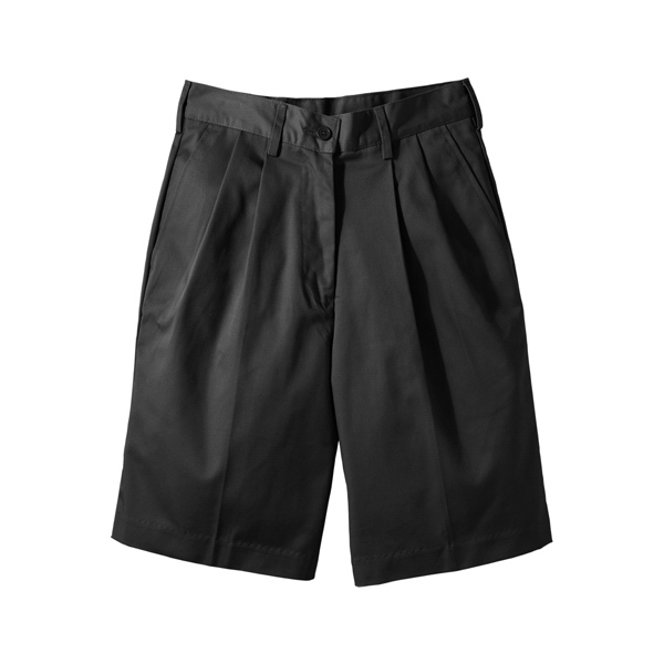 "26w-28w - Women's Utility Flat Front Shorts With 9/9.5"" Inseam Photo"