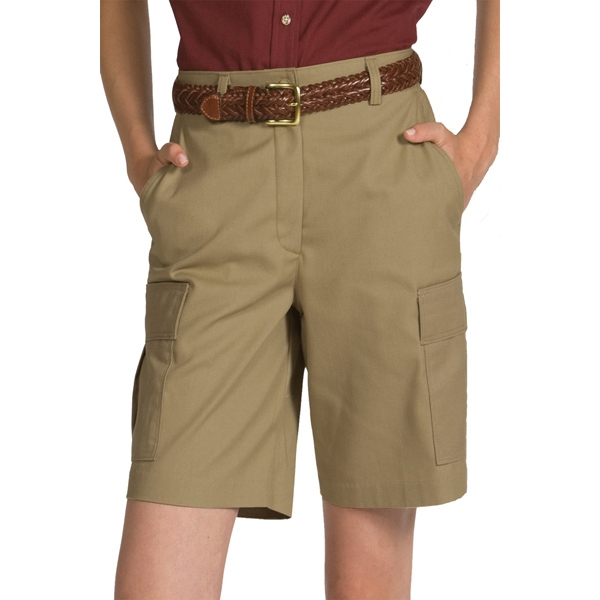 "18w-20w - Women's Utility Cargo Shorts 9""/9.5"" Inseam Photo"