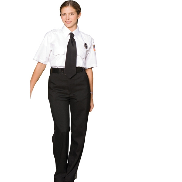 18w-20w - Women's Flat Front Security Pants Photo