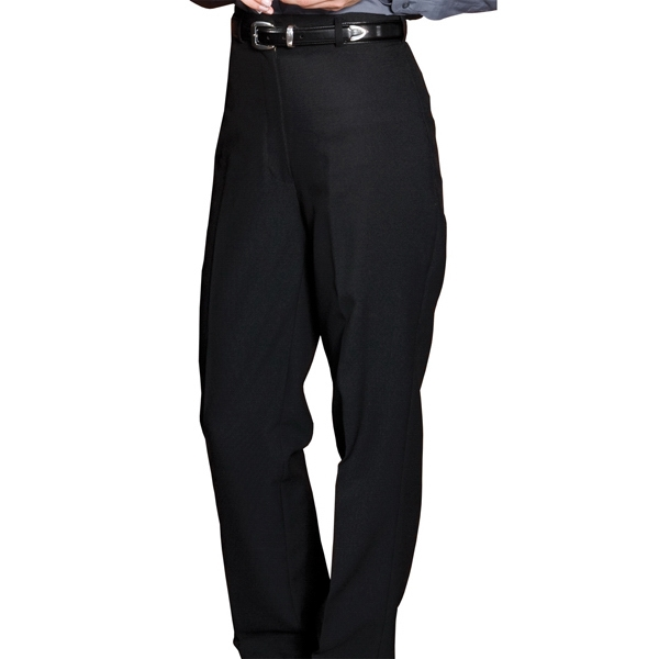 22w-24w - Women's Polyester Casino Flat Front Pants With No Pockets Photo