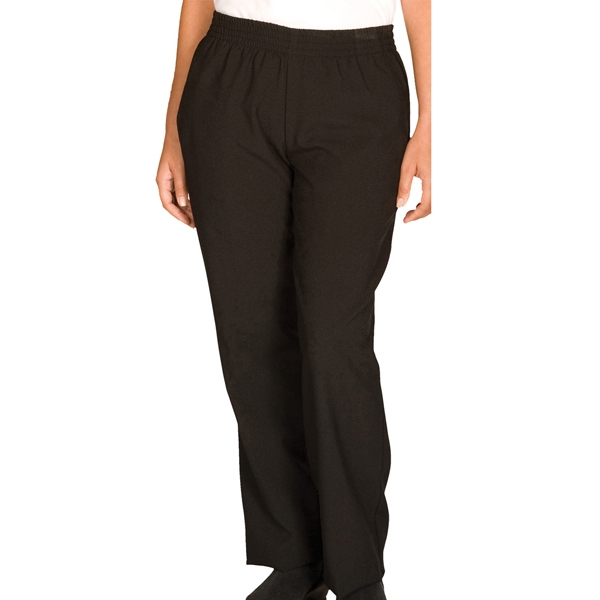3 X L - Women's Pull-on Black Pants Photo
