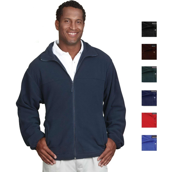 Reebok (r) Maxx - Navy - 2 X L - 6 Oz/ 200gsm 100% Polyester Fleece Jacket Photo