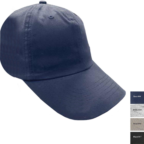 Reebok (r) - Navy - 65% Polyester/ 35% Cotton Structured Brushed Twill Cap Photo