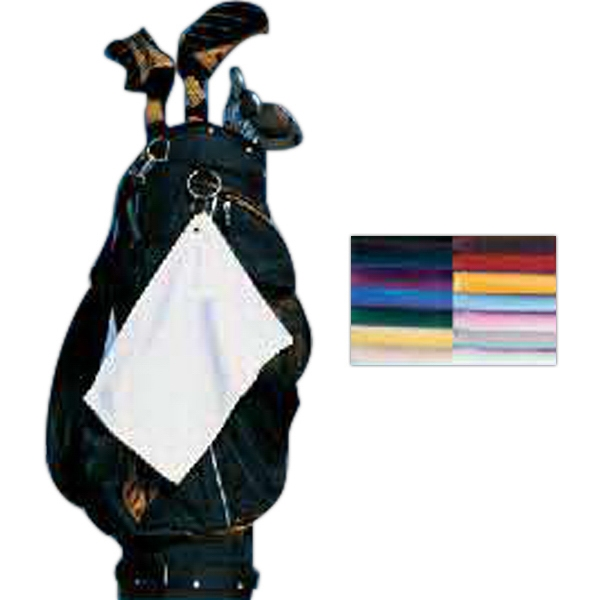 Signature (r) - Black - Turkish Golf Towel. Opportunity Buy Photo