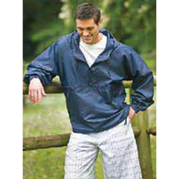 Compass - Navy - Ripstop Water Resistant Packable Jacket. Opportunity Buy Photo