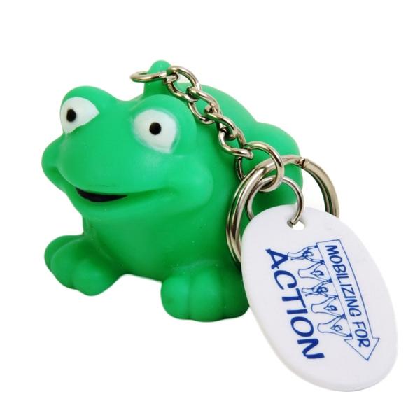 Cute Novelty Frog Key Chain
