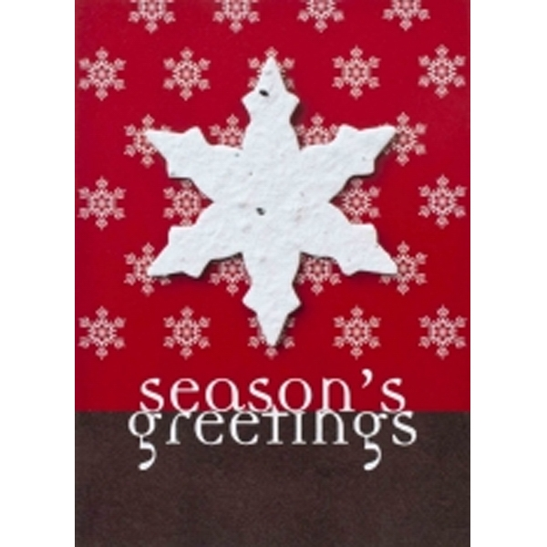 Holiday Card with Seeds