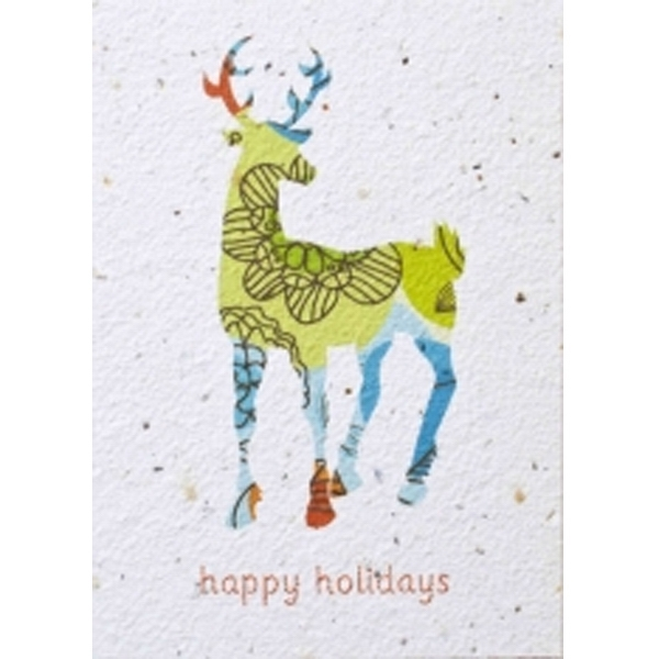Holiday Card with Seeds - Fully Plantable