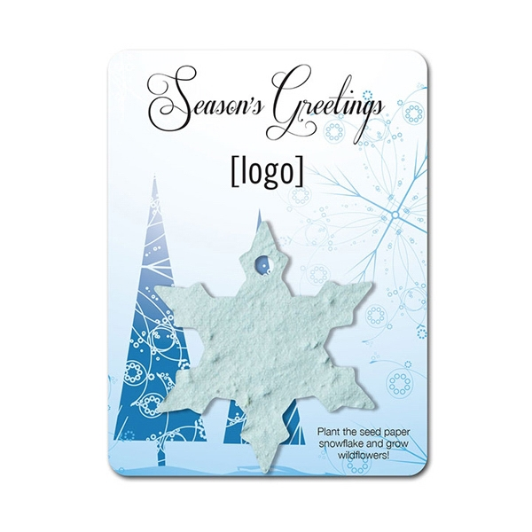 Snowflake3 Mini Gift Pack With Seed Paper