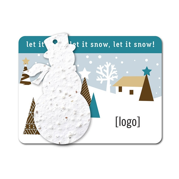 Snowman Mini Gift Pack With Seed Paper