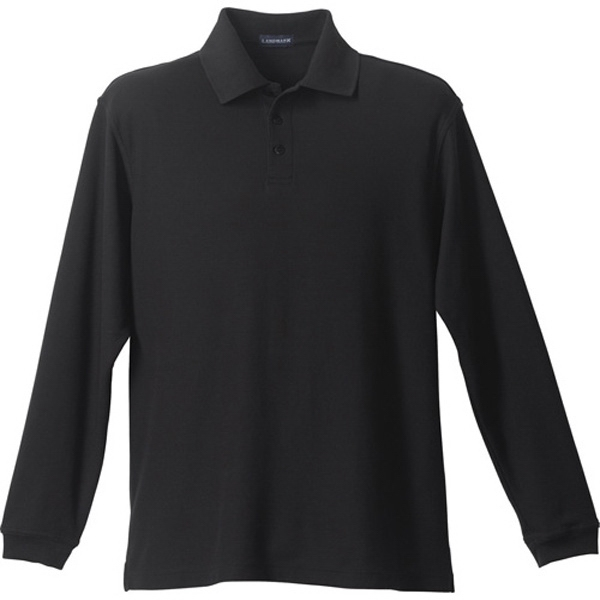 M-Donner Long Sleeve Polo