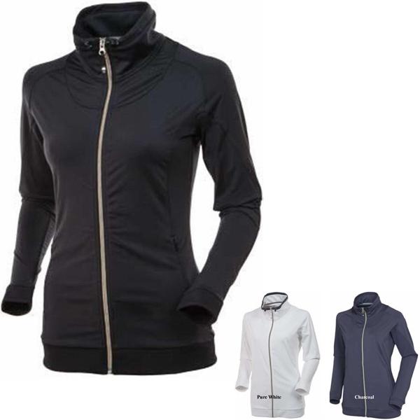 Charlotte Lightweight Full Zip Stretch Jacket