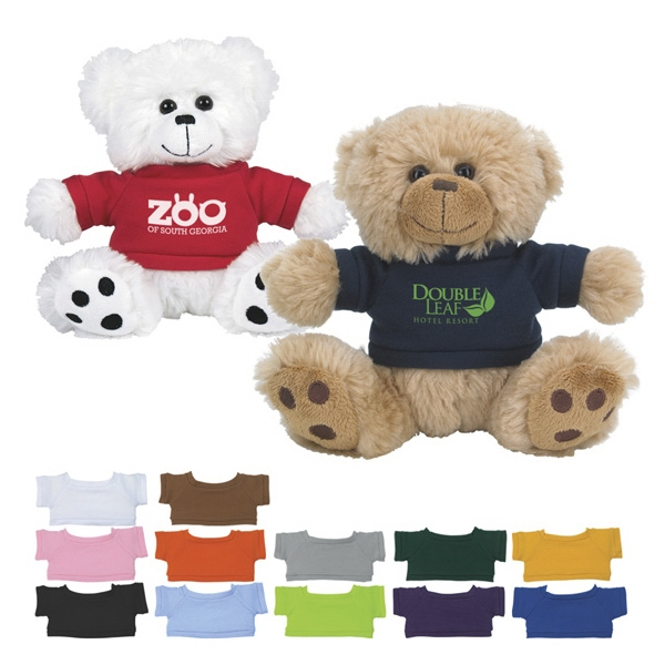 Plush Bear With Shirt Photo