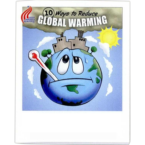 Ways To Reduce Global Warming - Coloring And Activity Book With Environmental Theme, 8 Pages Photo