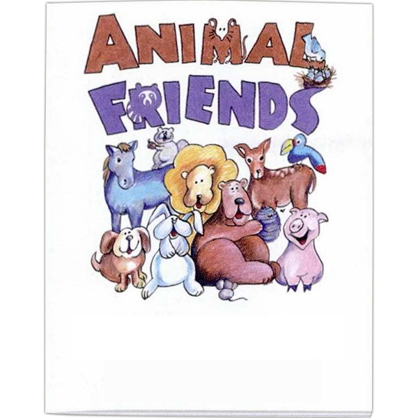 Animal Friends Coloring/activity Book With 8 Pages Photo