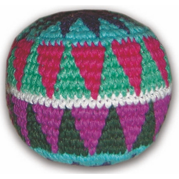 Official Footbags (tm) - Handmade Guatemalan Crocheted Foot-bag/hacky Sack Photo