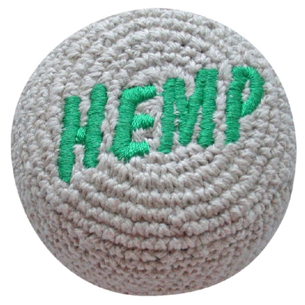 Hemp Embroidered Crocheted Footbag Photo