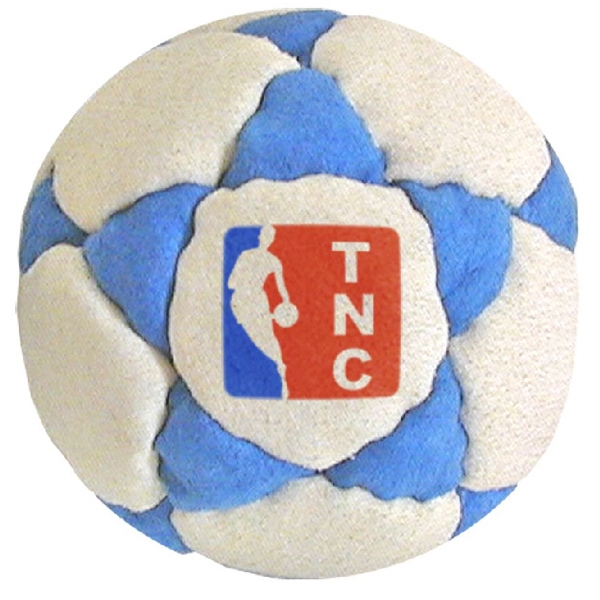 Official Footbags (tm) - 32 Panel Logo Imitation Suede Footbag Photo