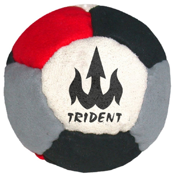 Official Footbags (tm) - 12 Panel Logo Durable Imitation Suede Footbag Photo