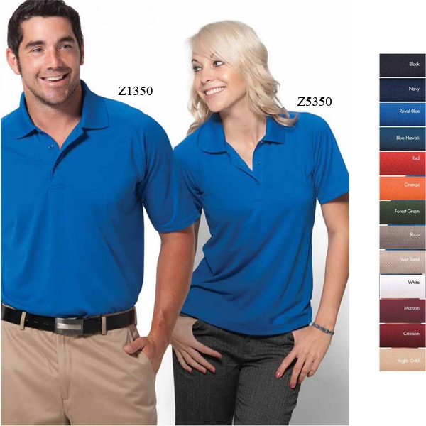 Palmetto-w - 3 X L - Women's Textured Saddle Shoulder Golf Polo Photo