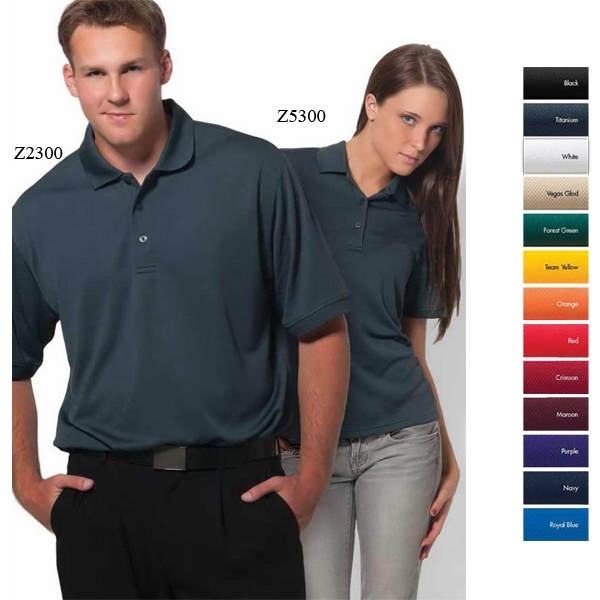 Newport - 5 X L - Polyester Mesh Polo Photo